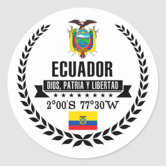 Sticker Rond L'Equateur