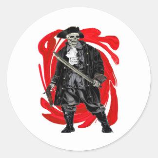Sticker Rond Les hommes morts ne disent aucun conte