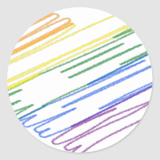 Sticker Rond lgbt18