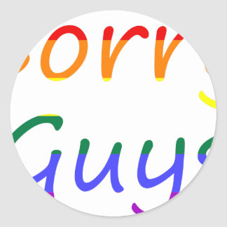 Sticker Rond lgbt25