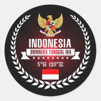 Sticker Rond L'Indonésie
