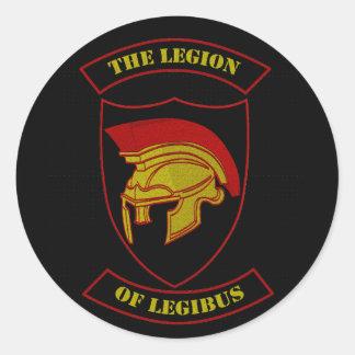Sticker Rond Logo de Legibus
