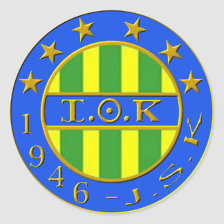 Sticker Rond logo jsk