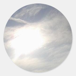 Sticker Rond Lueur de Sun
