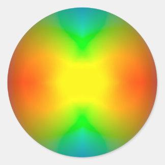 Sticker Rond L'univers de division
