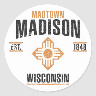 Sticker Rond Madison