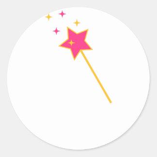 Sticker Rond magic a tordu