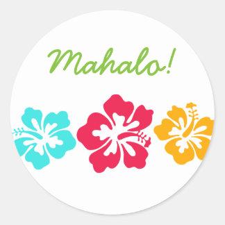Sticker Rond Mahalo