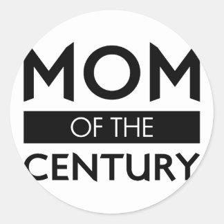 Sticker Rond Maman du siècle