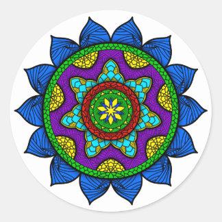 Sticker Rond Mandala