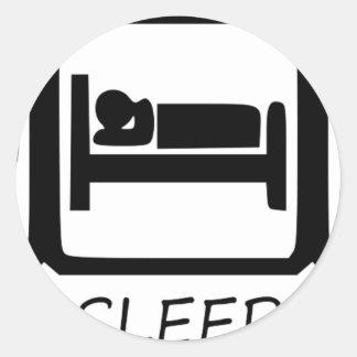 STICKER ROND MANGEZ SLEEP15