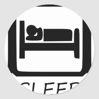 STICKER ROND MANGEZ SLEEP3