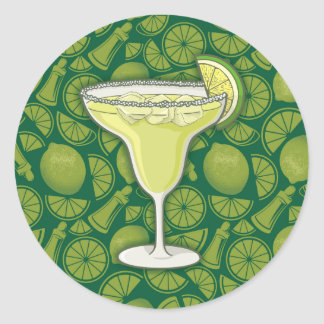 Sticker Rond Margarita