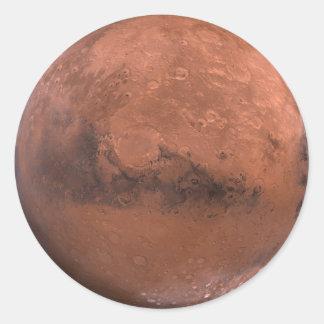 Sticker Rond Mars