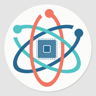 Sticker Rond Mars pour l'autocollant 1 du SV de la Science