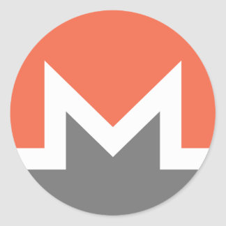 Sticker Rond Monero (xmr)