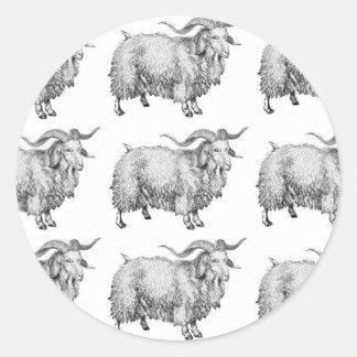 Sticker Rond motif de la vieille RAM