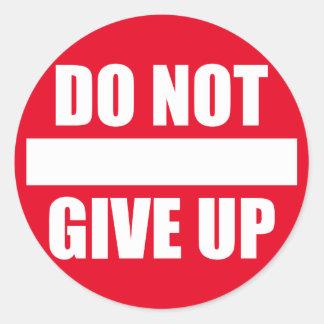 Sticker Rond Motivation de gymnase de forme physique -