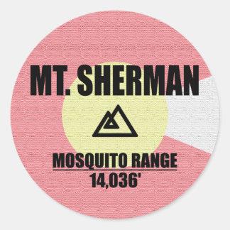 Sticker Rond Mt. Sherman