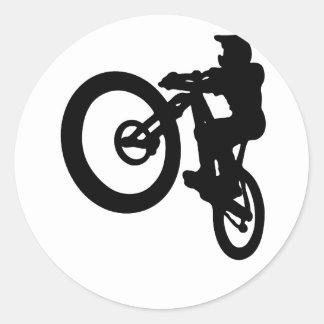 Sticker Rond MTB-Jump