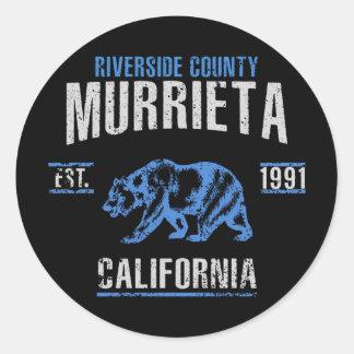 Sticker Rond Murrieta