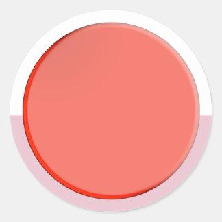 Sticker Rond Nuances artistiques de couleur : Outils de
