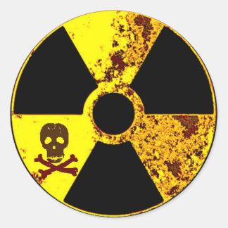 Sticker Rond nucléaire commémoratif de Chernobyl de jour de la