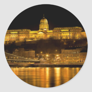 Sticker Rond Nuit d'or de Budapest