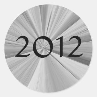 Sticker Rond Obtention du diplôme 2012