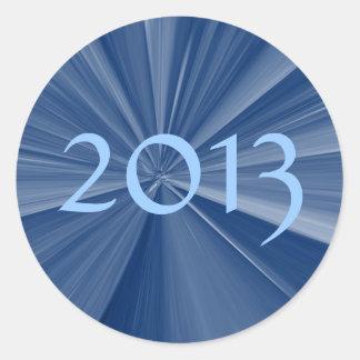 Sticker Rond Obtention du diplôme 2013