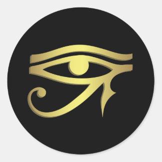 Sticker Rond Oeil de horus