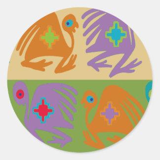 Sticker Rond Oiseaux péruviens
