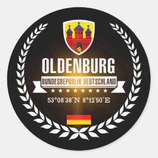 Sticker Rond Oldenbourg