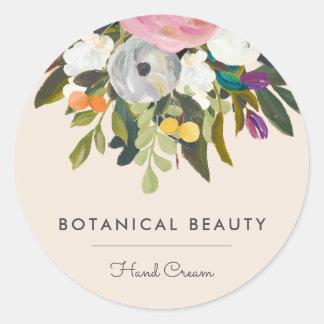 Sticker Rond Option botanique 2 d'autocollants de cercle de