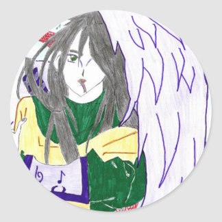 Sticker Rond Orochimaru , le dieu serpent