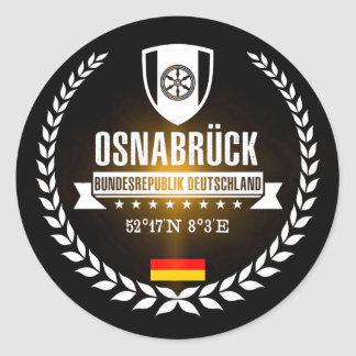 Sticker Rond Osnabrück