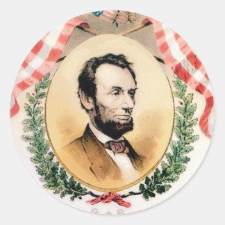 Sticker Rond Ovale d'Abe