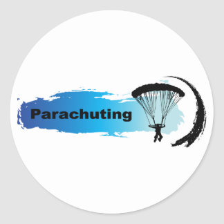 Sticker Rond Parachutage unique