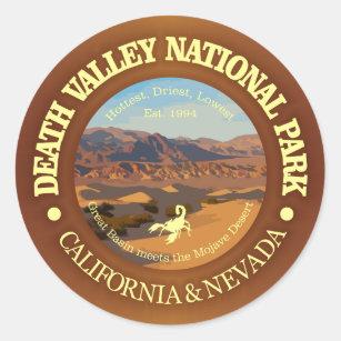 Sticker Rond Parc national de Death Valley