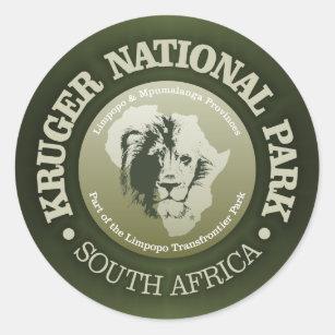 Sticker Rond Parc national de Kruger