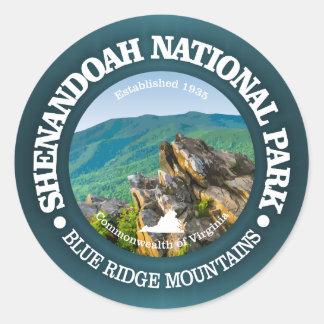 Sticker Rond Parc national de Shenandoah
