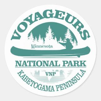 Sticker Rond Parc national de Voyageurs