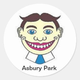 Sticker Rond Parc NJ Tillie d'Asbury