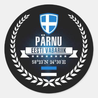 Sticker Rond Pärnu