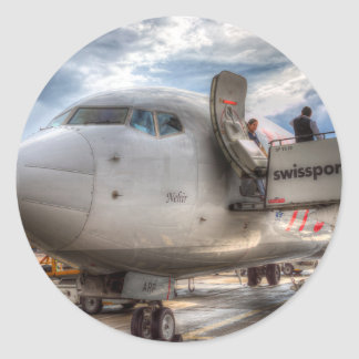 Sticker Rond Pegasus Airlines B 737