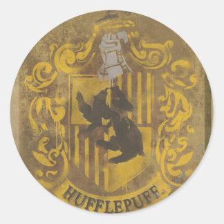 Sticker Rond Peinture de jet de crête de Harry Potter |