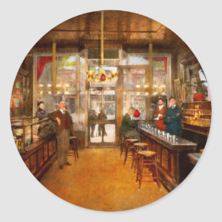 Sticker Rond Pharmacie - la pharmacie 1910 de Congdon