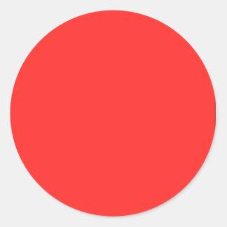 Sticker Rond Plaine de KOOLshades : Achetez VIDE ou AJOUTEZ