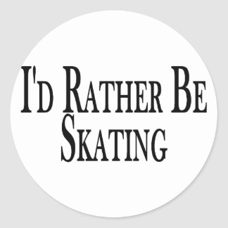 Sticker Rond Plutôt patine