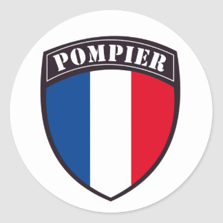Sticker Rond pompier de france